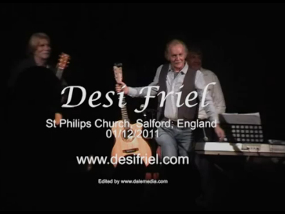 Desi Friel live at St Philips Church, Salford, England - Jan 2012